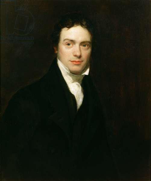 Portrait of Michael Faraday Esq (1791-1867) 1830 (oil on canvas)