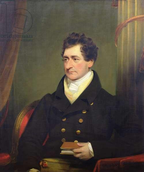 Portrait of John Pepys (d.1866) (oil on canvas)