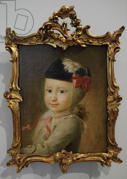 Carl Christian Laurentius Birch as a child (oil on canvas)