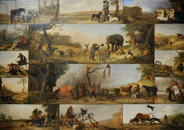 Punishment of a Hunter, c.1647, by Paulus Potter (1625-1654).