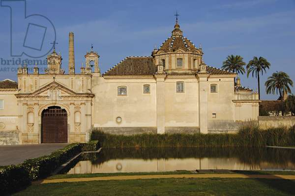 Monastery of Our Lady of the Caves, Island of the Charterhouse, Seville, Andalusia, Spain (photo)