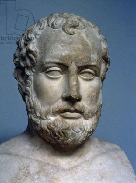 Aeschines (389-314 BC). Greek statesman. Bust.