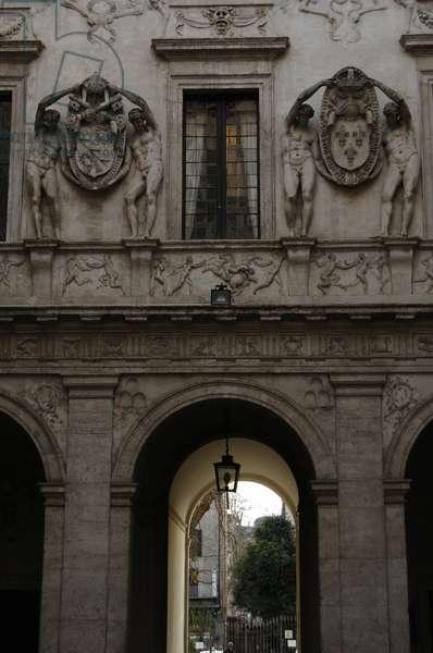 Italy. Rome. Spada's Palace.