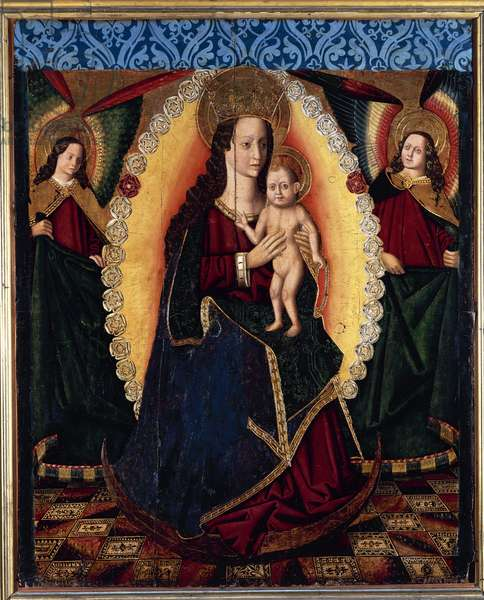 Our Lady of the Rosary, 1475-1500