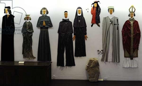 Medieval clothing. Europe.