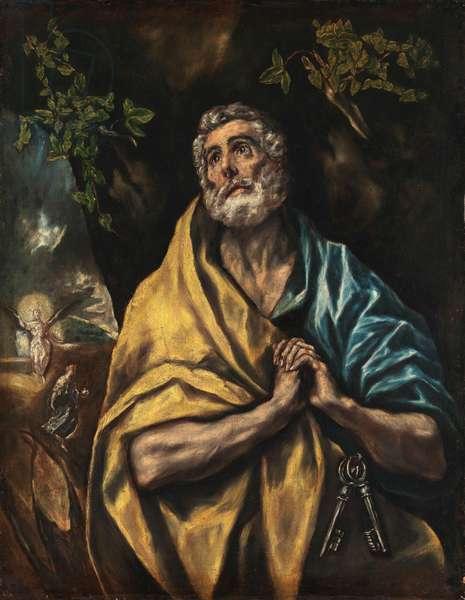 Saint Peter Repentant, 1590