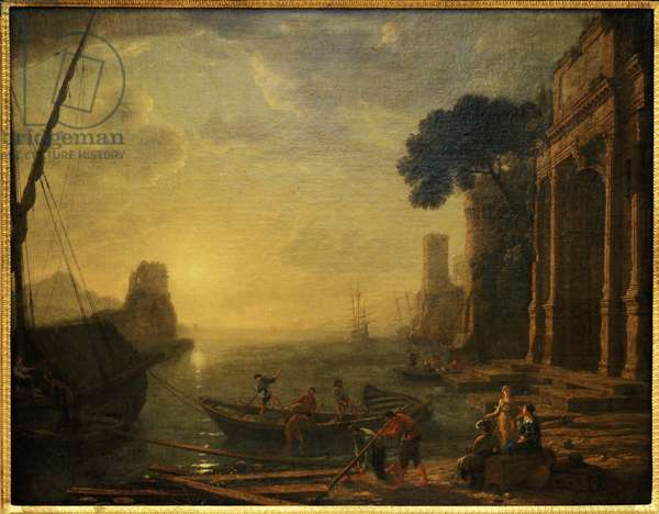 Morning in the harbour, 1634