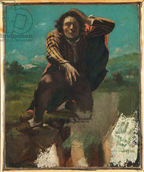 The Mad Man with Fear, c.1844