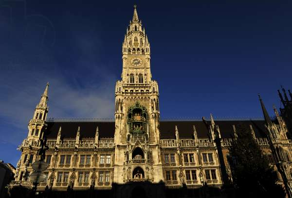 Germany. Munich. The New Town Hall. Marienplatz.