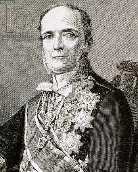 Fernando Calderon Collantes, 1st Marquis of Reinosa (engraving)