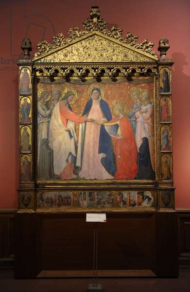 Giovanni da Ponte (1385-1437). The Mystic Marriage of Saint Catherine of Alexandria.