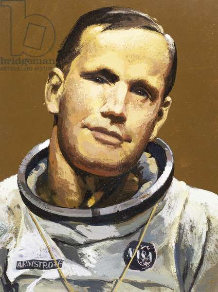 Armstrong, Neil (1930). American astronaut, the first man who walked on the moon.