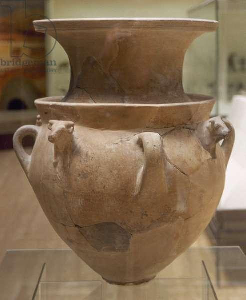 Hittite art. Second half of the second millennium. Vessel.