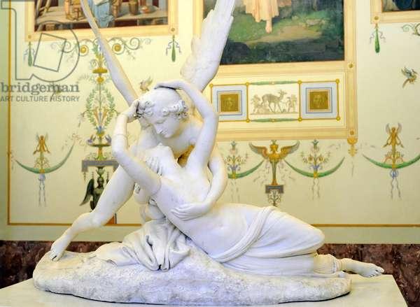 Cupid and Psyche, 1794-1799, by Antonio Canova (1757-1822).