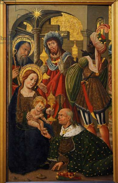 The Adoration of the Kings, c.1490