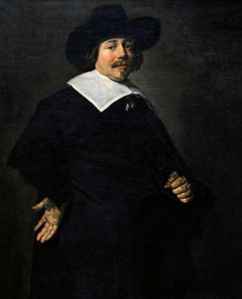 Portrait of a man, Albert von Nierop?, ca.1640, by Frans Hals (1581/1585-1666).
