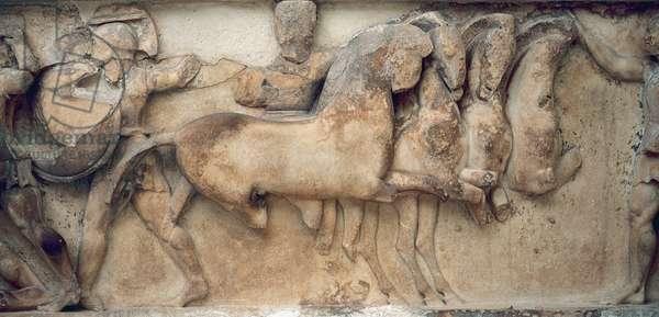 Siphnian Treasury. 530 BC. Greece.