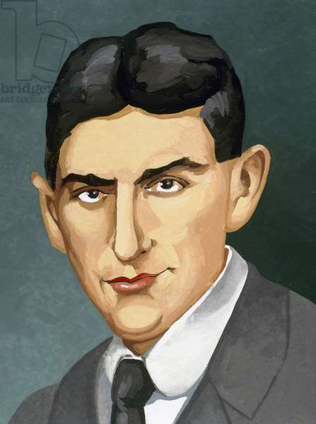 Franz Kafka (1883-1924). Czech writer in German language. Portrait.