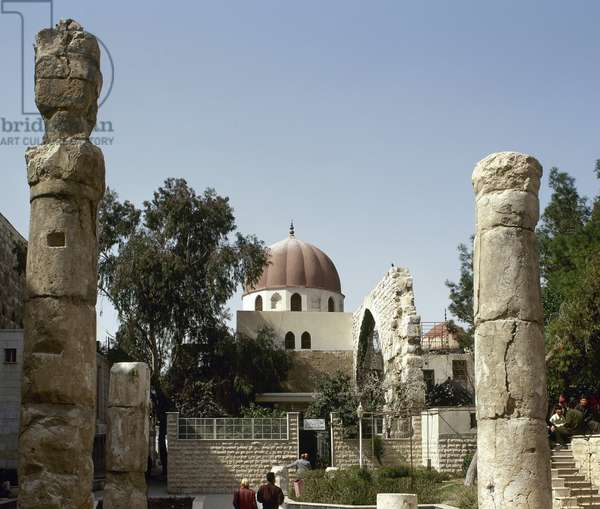 Syria. Damascus. Mausoleum of Saladin (138-1193). Exterior.