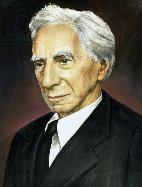 Bertrand Russell (1872-1970). British mathematician and philosopher. Portrait.