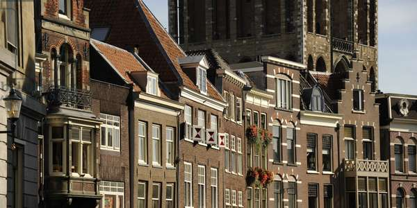 Utrecht. Buildings at the historic center.