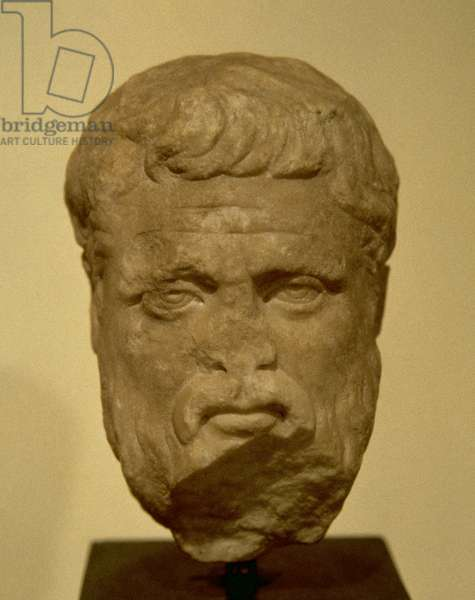 Plato (428/427-348/347 BC), Bust, 2nd-3rd C, AD