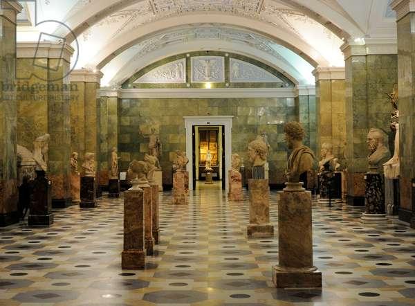 Russia. Saint Petersburg. The State Hermitage Museum. Interior.