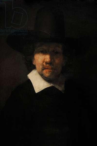 Rembrandt Harmenszoon van Rijn (1606-1669). Portrait of the Poet Jeremias de Decker, 1666.