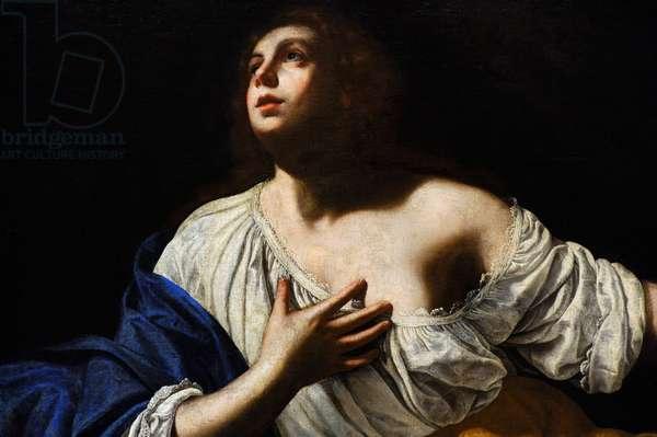 Mary Magdalene Penitent, c.1640, detail