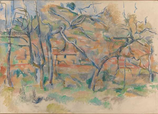 Trees and Houses, Provence, c.1885