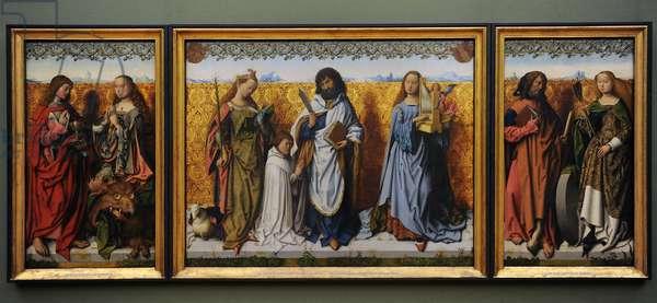 Saint Bartholomew Altarpiece, ca.1500-1510. Master of the Saint Bartholomew Altarpiece (1475-1510).