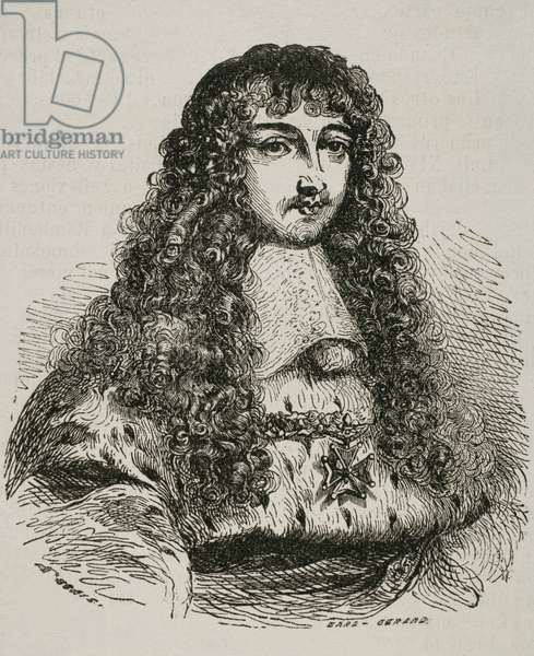Louis XV (1710-1774) (engraving)