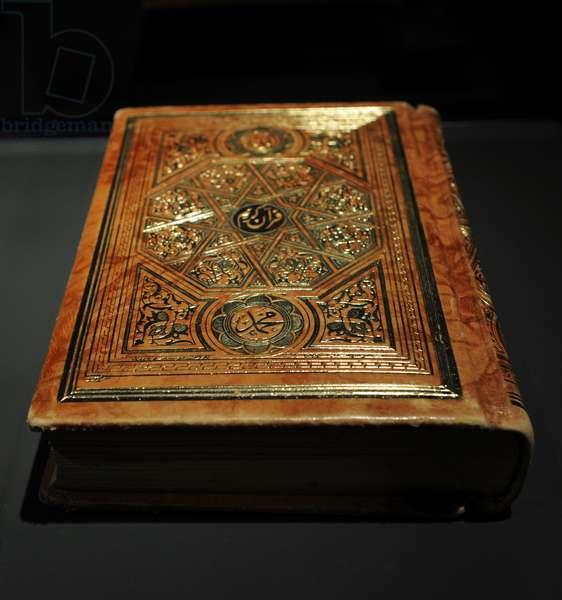 King Abdulaziz'Quran. Early 20th century. Riyadh. Saudi Arabia.