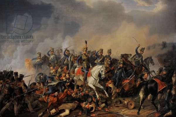 Albrecht Adam (1786-1862). Battle Scene, 1838.