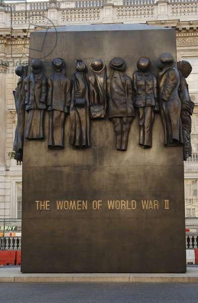 Monument to The Women of World War II, Whitehall, London, UK, 2005 (photo)