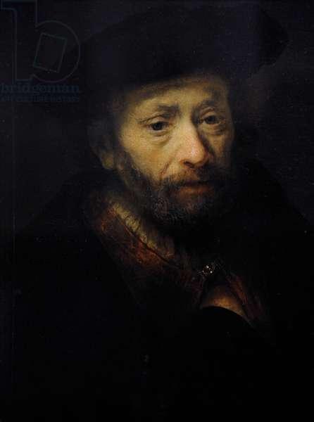 Rembrandt Harmenszoon van Rijn (1606-1669). Portrait of a bearded old man, 1643.