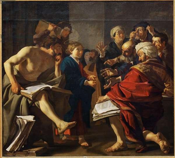 Christ among the Doctors, 1622
