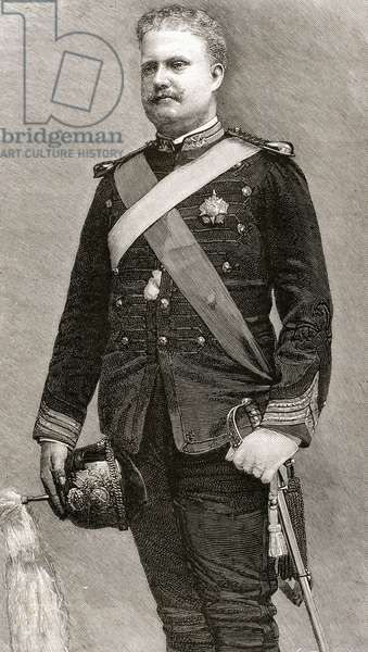 Charles I of Portugal (1863-1908). King of Portugal and the Algarves (1889-1908).