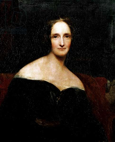 Mary Shelley, c.1840 (oil on canvas)