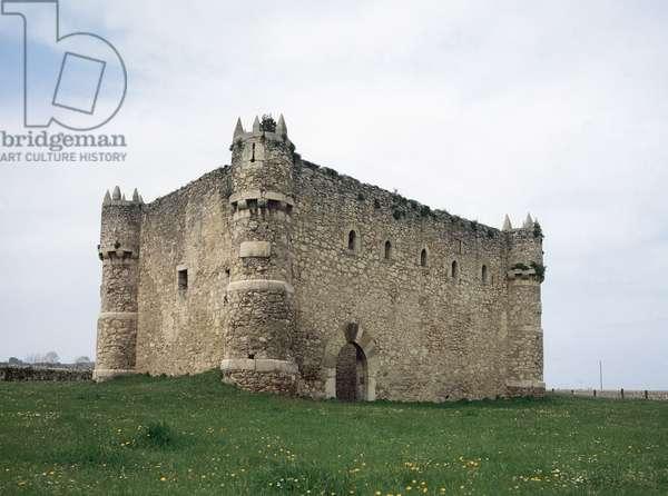 Aguero Castle, Cantabria, Spain (photo)