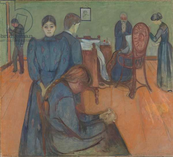 Death in the Sickroom, 1893 (tempera on canvas)