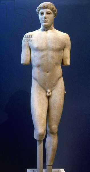 Kritios Boy, Early Clasical period, by Kritios, Greece, c.480 BC.