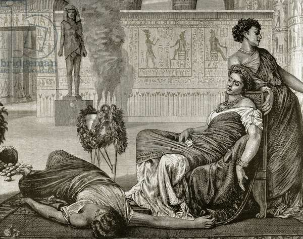 Death of Cleopatra (engraving)