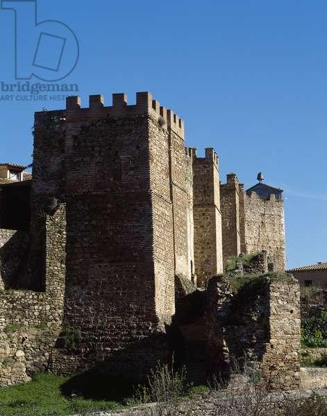 Spain, Buitrago del Lozoya, Walls, 11th-15th centuries  (photo)
