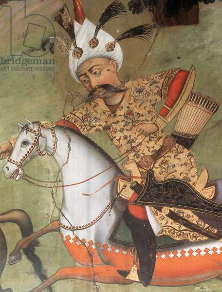 Abbas I the Great (1571-1629). Shah of the Safavid dynasty.