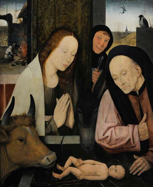 The Nativity of Christ, after Hieronymus Bosch (2nd half of 16th century).