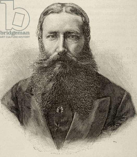 Leopold II of Belgium (1835-1909) (engraving)