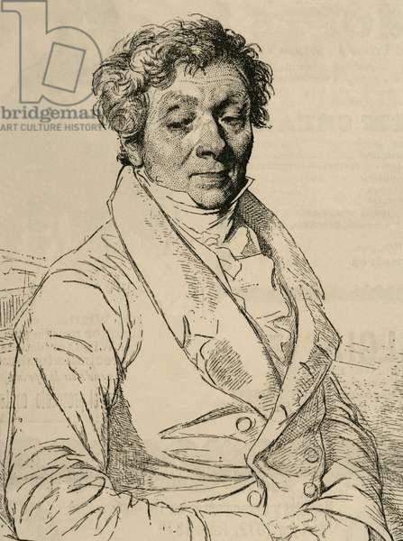 Louis Pierre Henriquel-Dupont (1797-1892). Engraving.