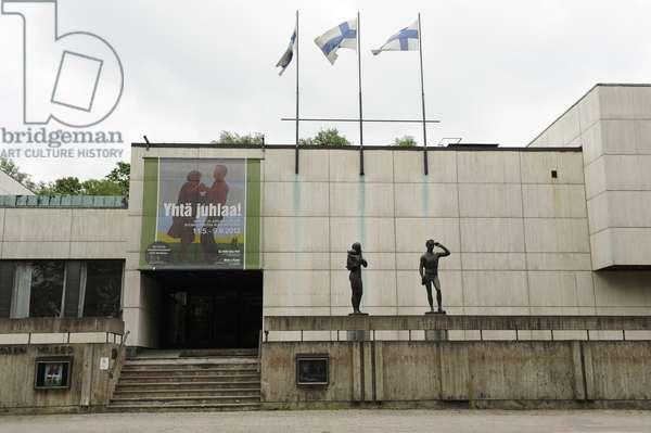 Waino Aaltonen Museum of Art or WAM. Turku,  Finland (photo)