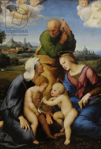 Raphael (1483 – 1520). Canigiani Holy Family. 1507-1508.